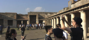 Pompeii, pizza, proud: three words to describe our trip to Italy