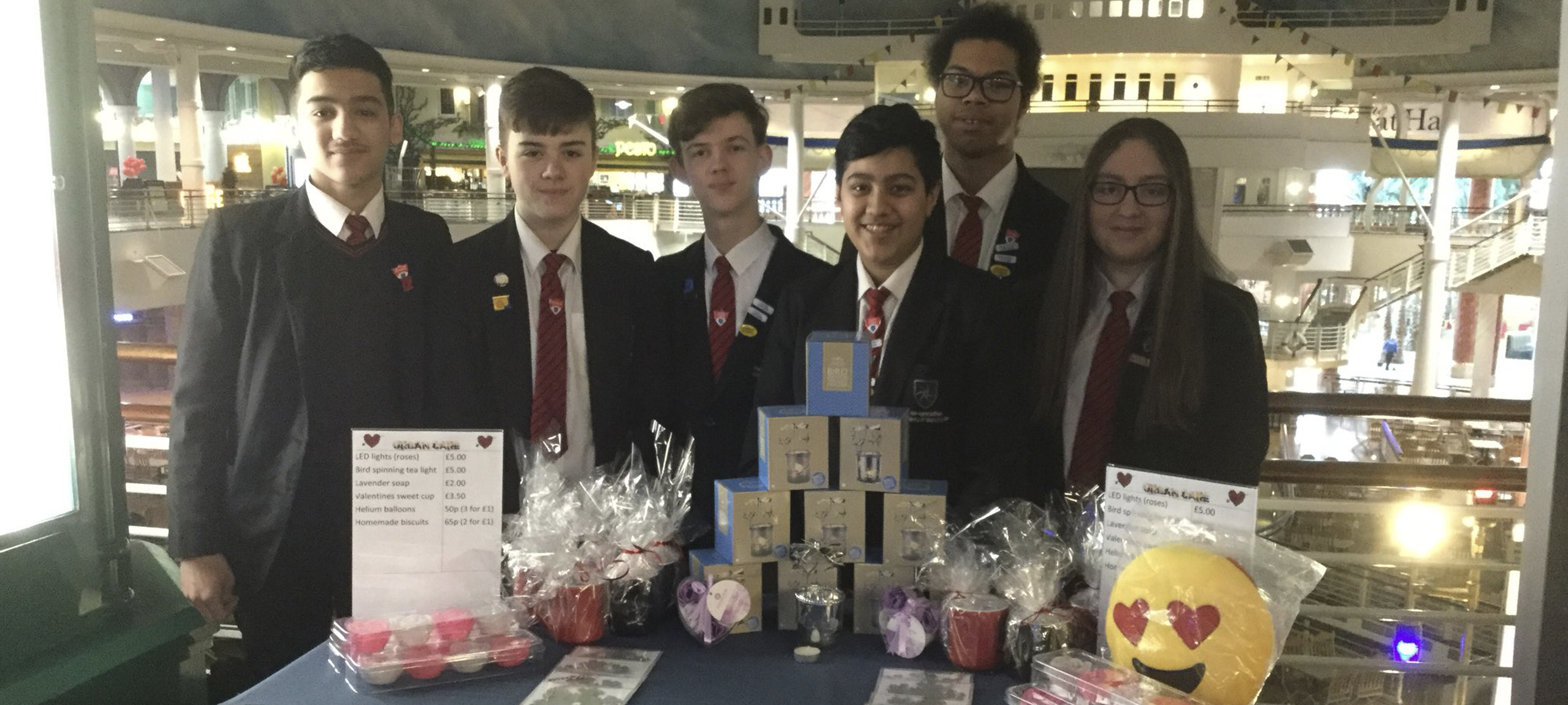 Urban Care – our Young Enterprise group makes a difference to local people