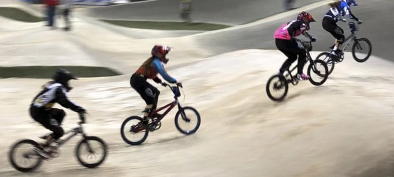 Riding high: our BMX champion