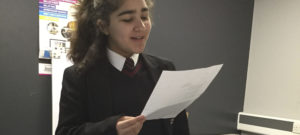 Year 7 students develop their 'Big Voices'