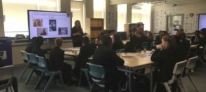 Year 7 experience a university-style lecture