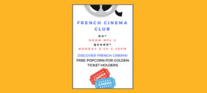 French Cinema Club – supporting our young linguists