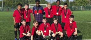 Year 7 footballers bring home the silver!