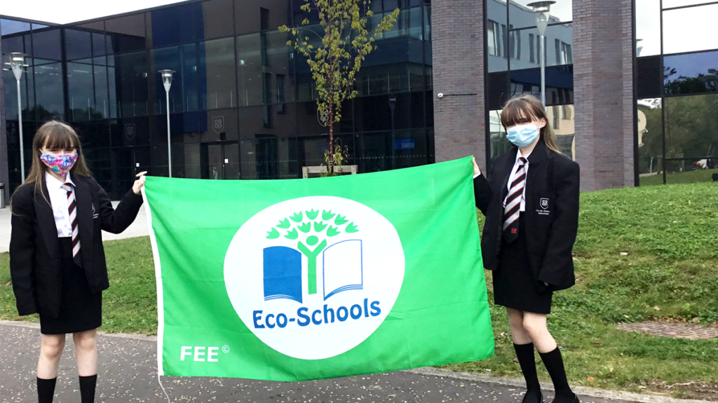 We are proud to be awarded our first Eco-Schools Green Flag
