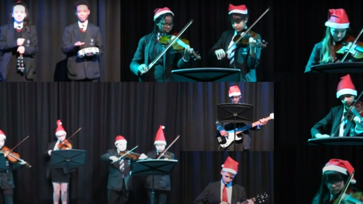 Celebrating Christmas with a virtual concert